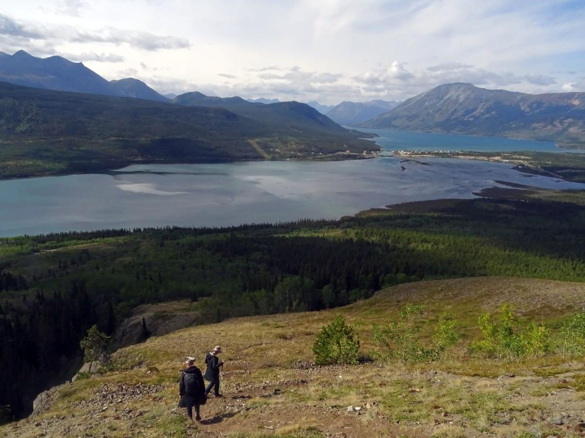 Randonnée à Carcross : Naires Mountain , Yukon, Canada