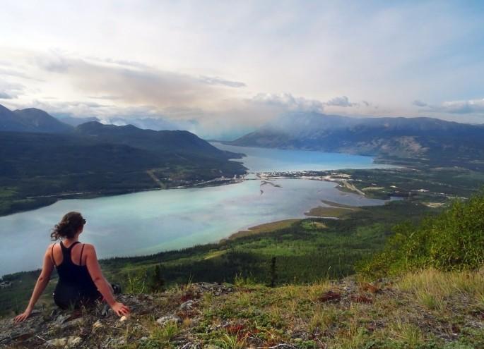 Randonnée Naires Mountain Carcross, Yukon, Canada