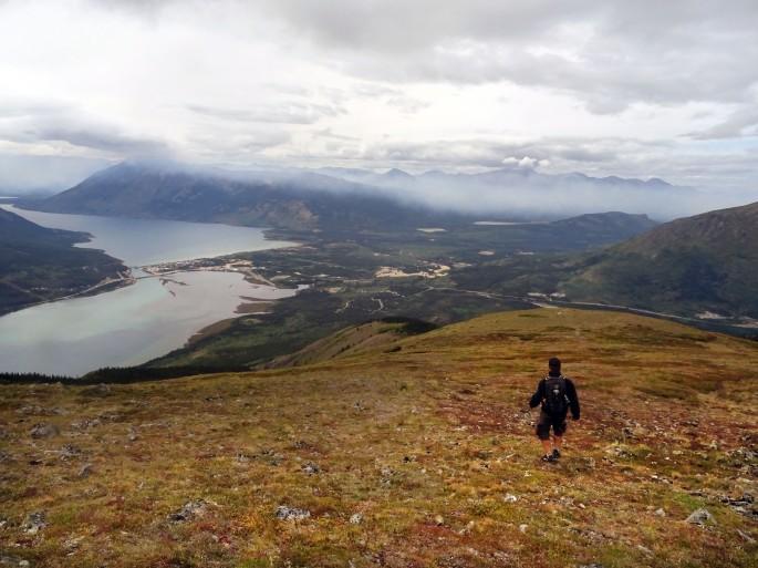 Randonnée à Naires Mountain, Carcross, Yukon, Canada