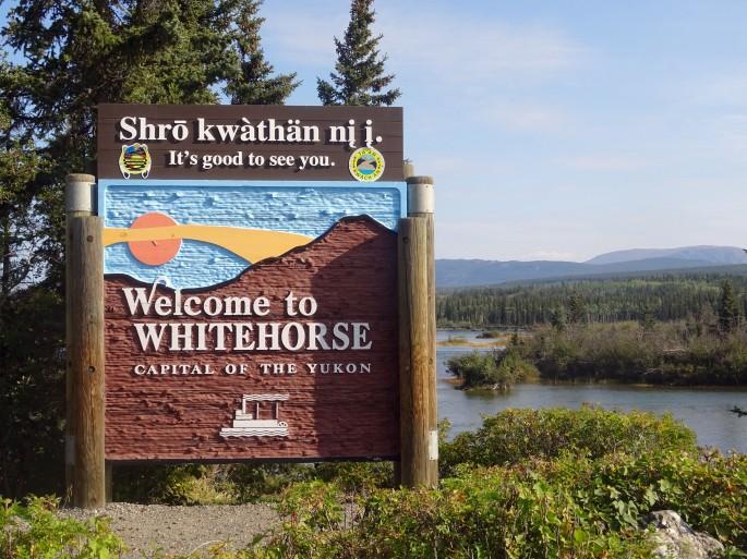 Welcome to Whitehorse, Yukon, Canada