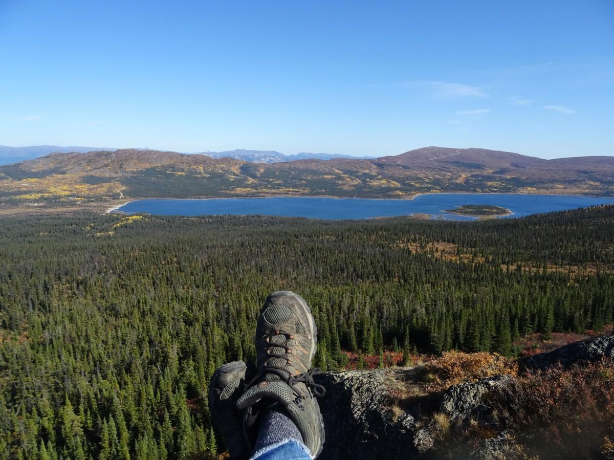 Randonnée à Fish lake, Whitehorse, Yukon, Canada