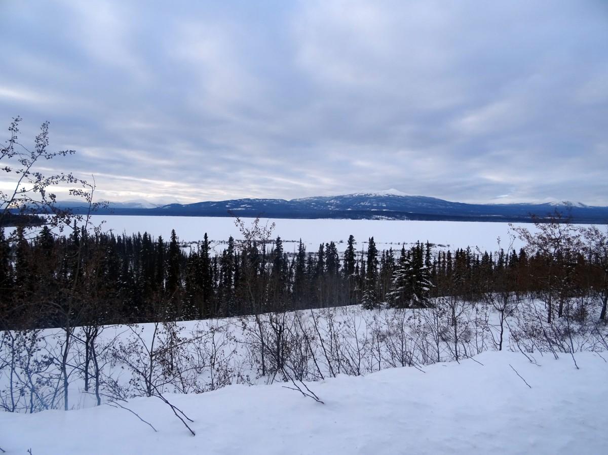 Le Yukon en hiver, Canada