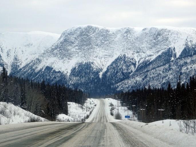 Road trip au Yukon, Canada