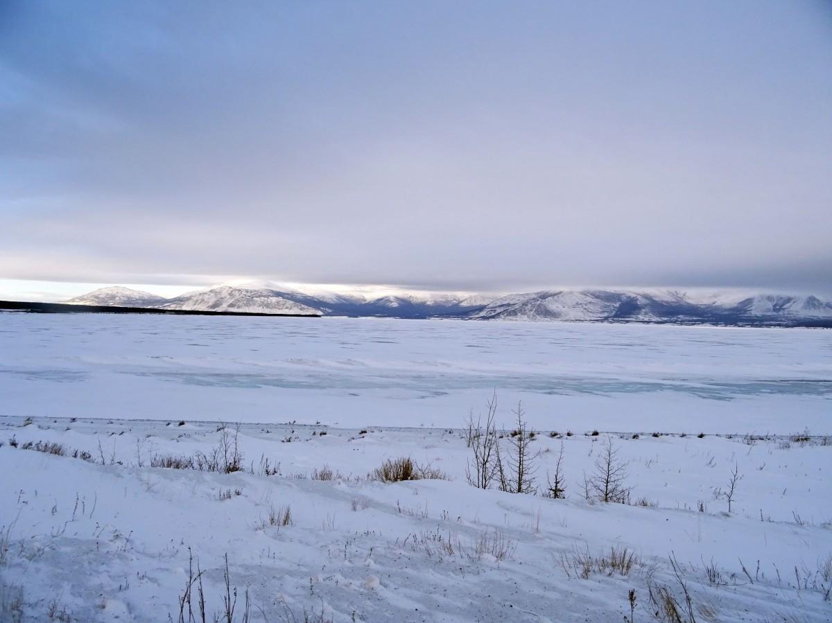 Alaska Highway, Kluane national park, Yukon, Canada