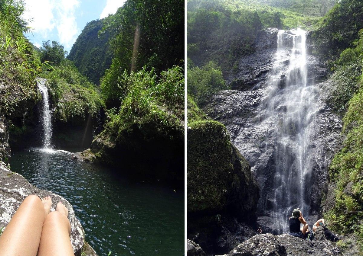 Cascades à Salazie, Ile de la Réunion