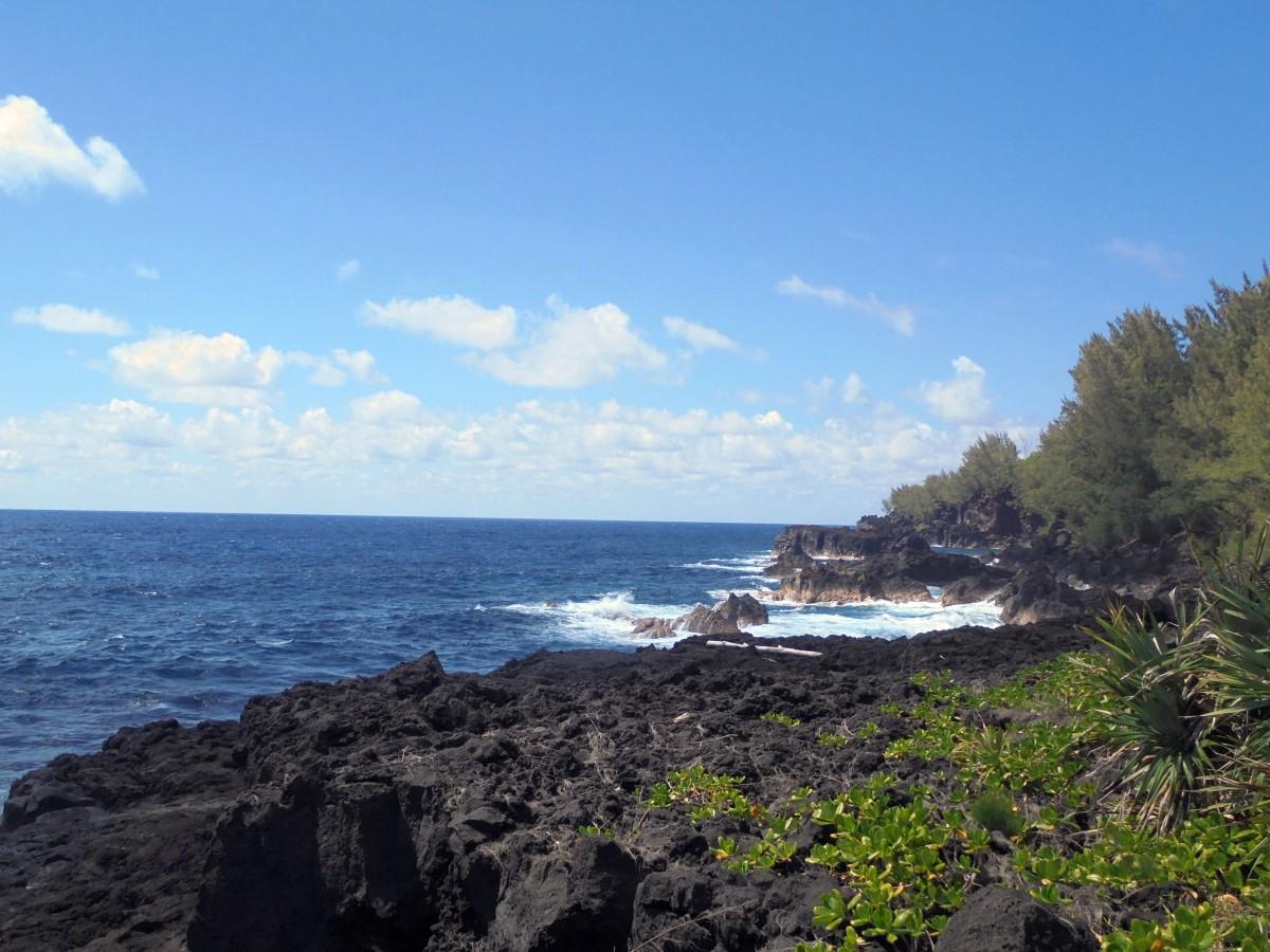 Randonnée sur le littoral Est de l'île de la Réunion