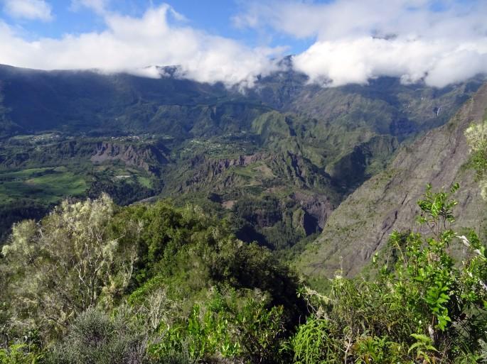 Randonnée au Piton Maillot, Cirque de Salazie, La Réunion