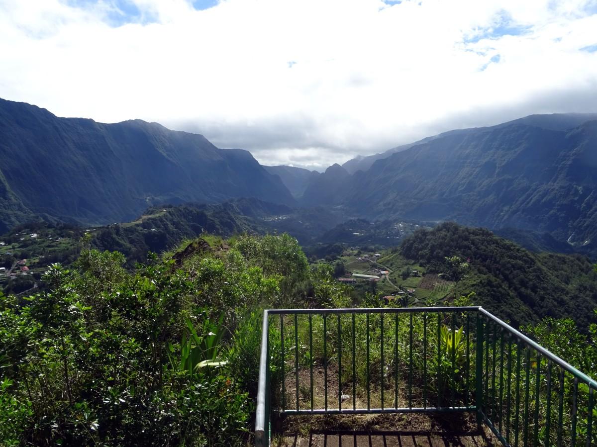 Randonnée au cirque de Salazie, Piton Maillot, Ile de la Réunion