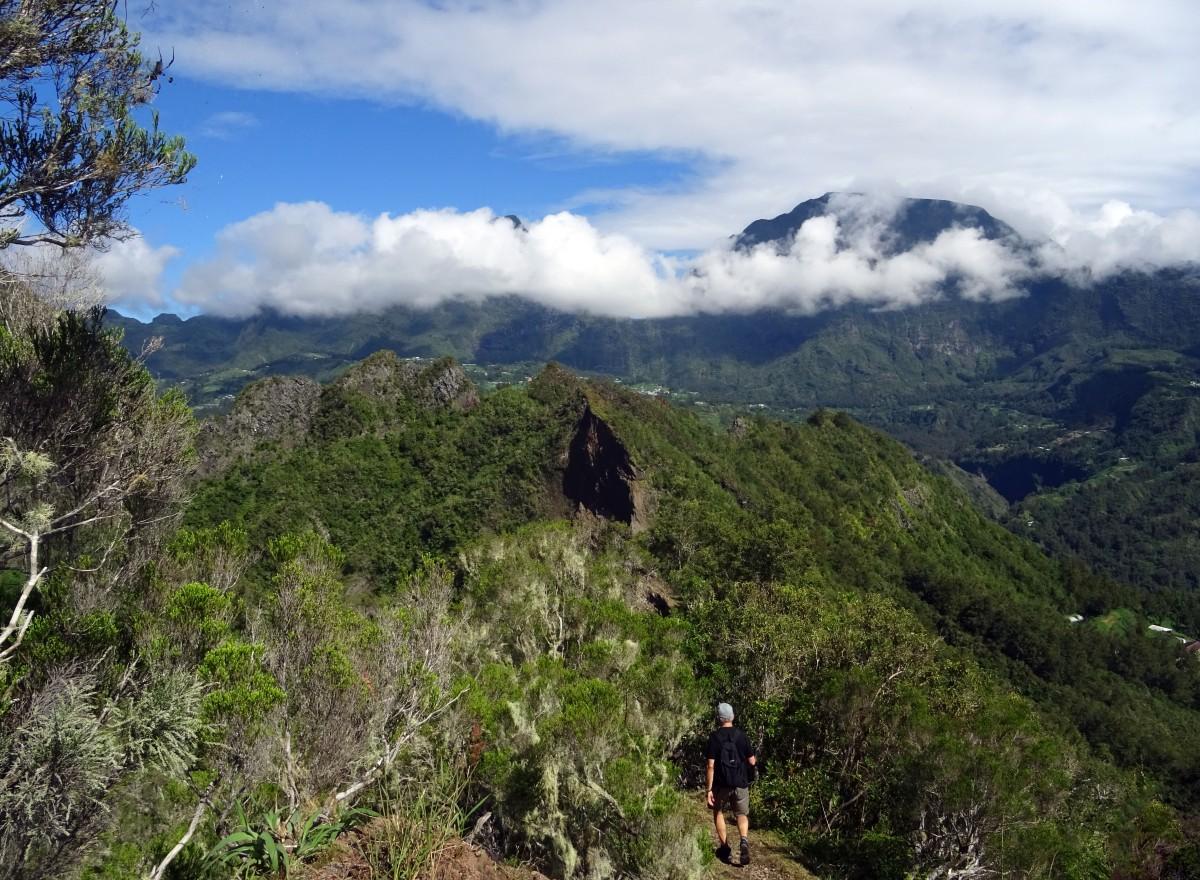Randonnée Piton Maillot au cirque de Salazie, ile de la Réunion
