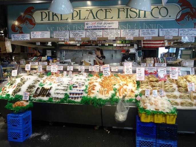 Marché de Pike Place à Seattle