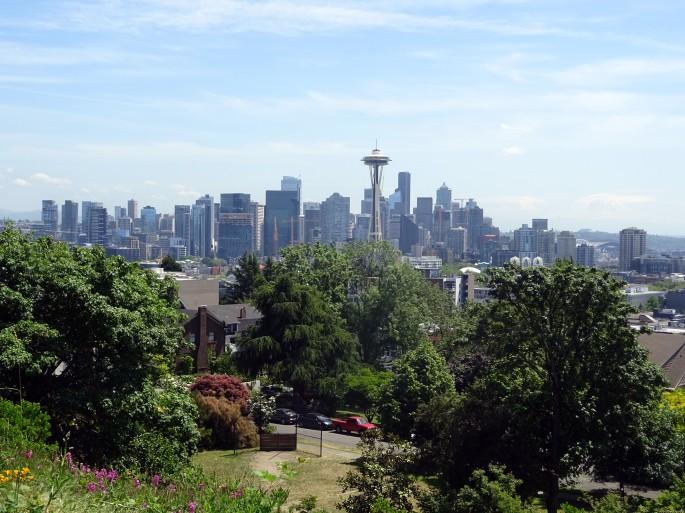 Vue sur Seattle depuis Kerry Park