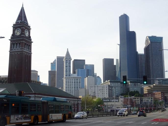 Centre-ville de Seattle, Etats-Unis