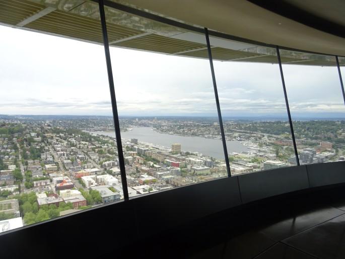 Intérieur du Space Needle, Seattle