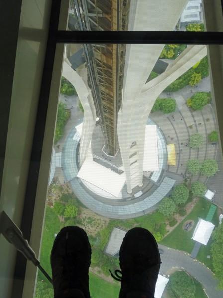Tour d'observation, Space Needle, Seattle, Etats-Unis