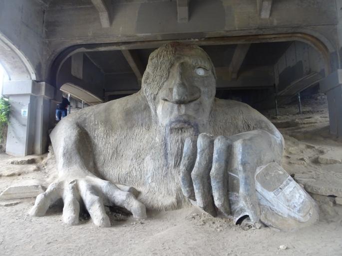 Fremont Troll, Seattle