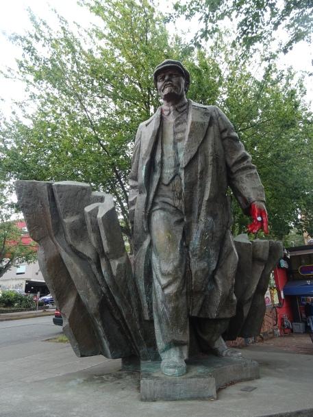 Statue de Lénine à Fremont, Seattle, Etats-Unis