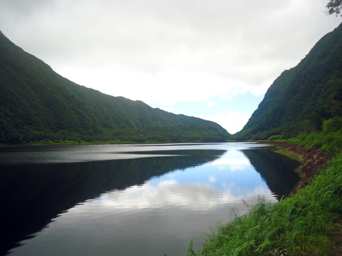 Randonnée facile au Grand étang, Saint-benoit, Ile de la Réunion