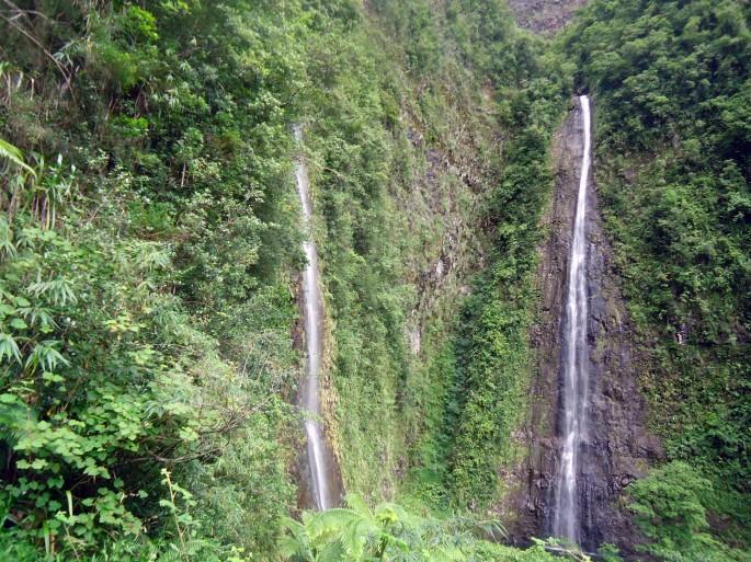 Cascades du bras d'Annette, Grand étang, Saint-benoit, ile de la Réunion
