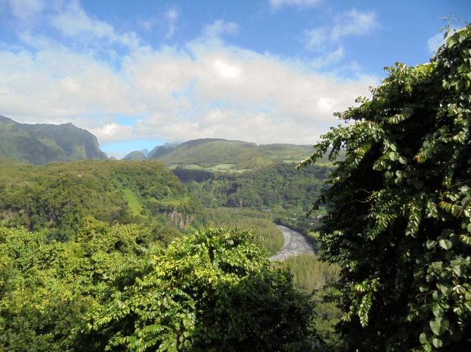 Randonnée à Bras Panon, ile de la Réunion