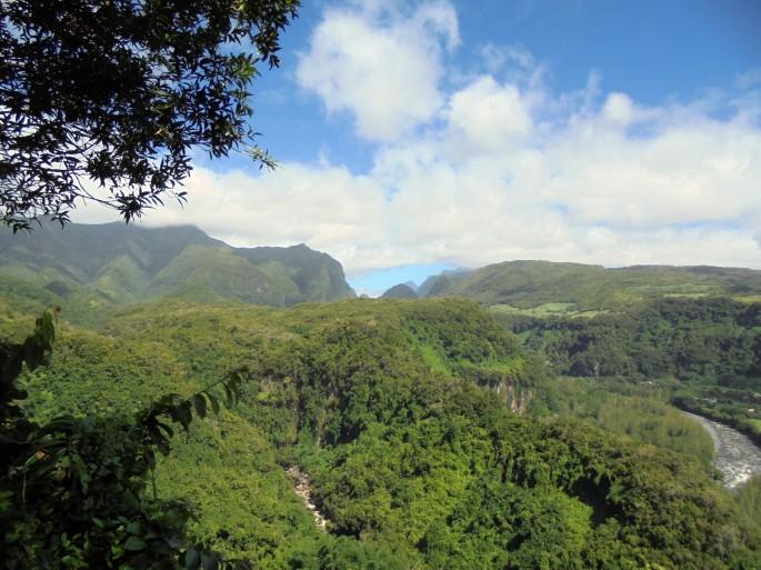 Randonnée à Bras-panon, ile de la Réunion