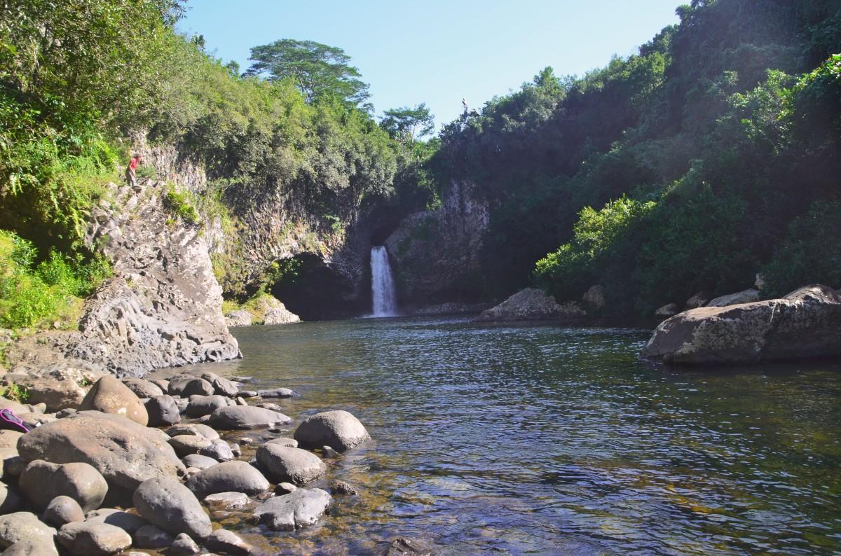 Randonnée au Bassin la Mer, Saint-benoit, Ile de la Réunion