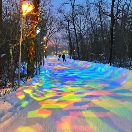 Patin à glace edmonton parc victoria