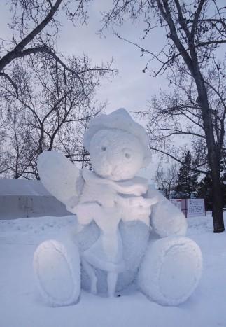 Sculptures de glace, Edmonton, Canada