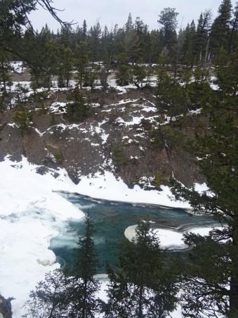 Parc National de Banff en hiver, Alberta, Canada