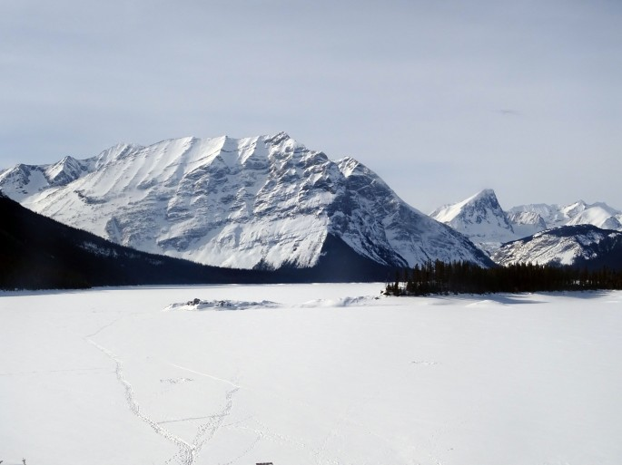 Upper Kananaskis lake, Alberta, Canada