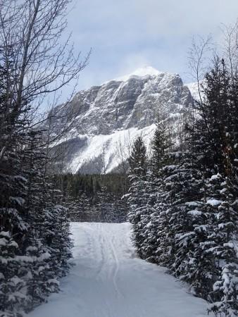 Canmore en hiver, Alberta, Canada