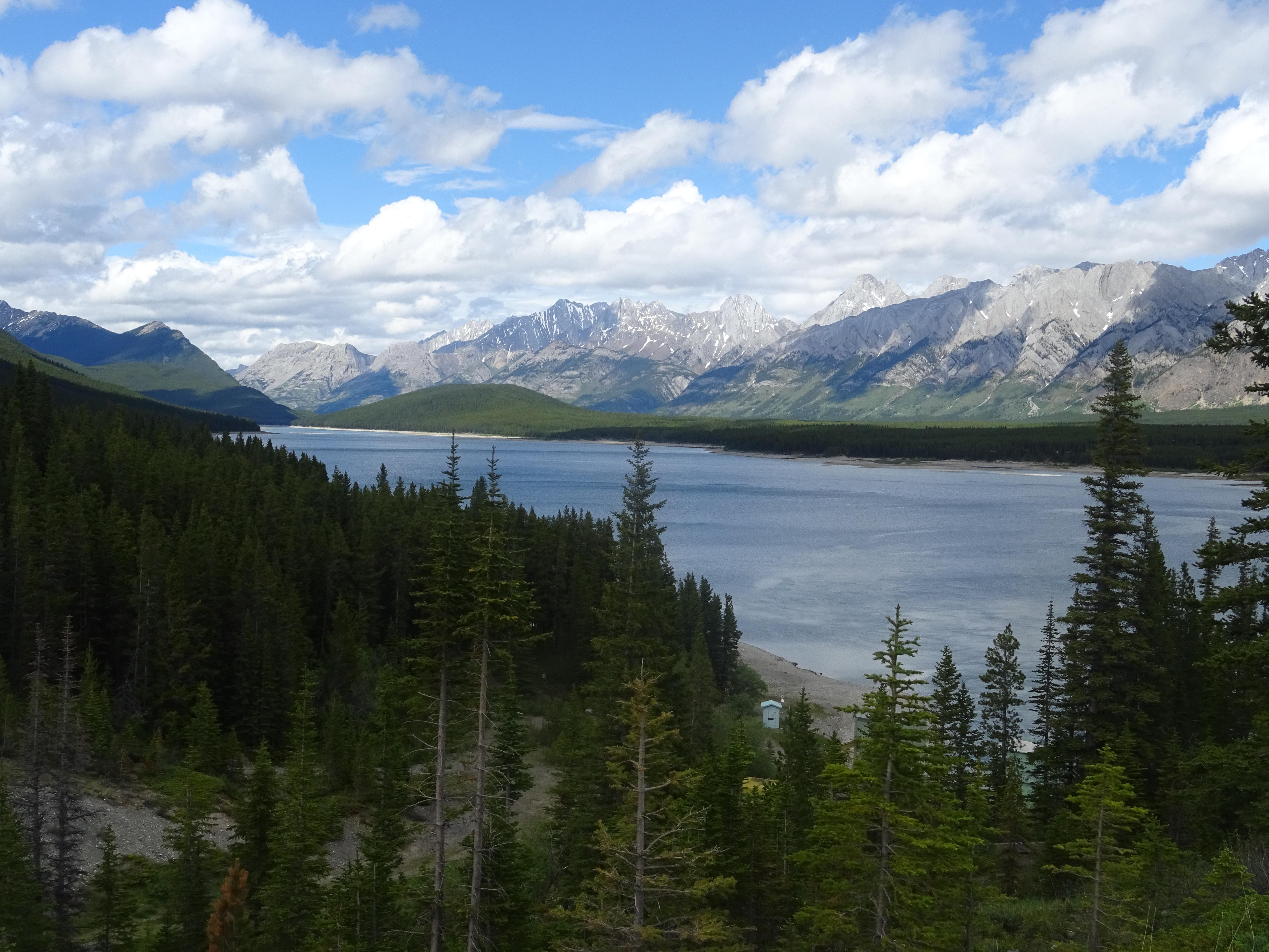 Lac Inférieur, Pays de Kananaskis, Alberta, Canada