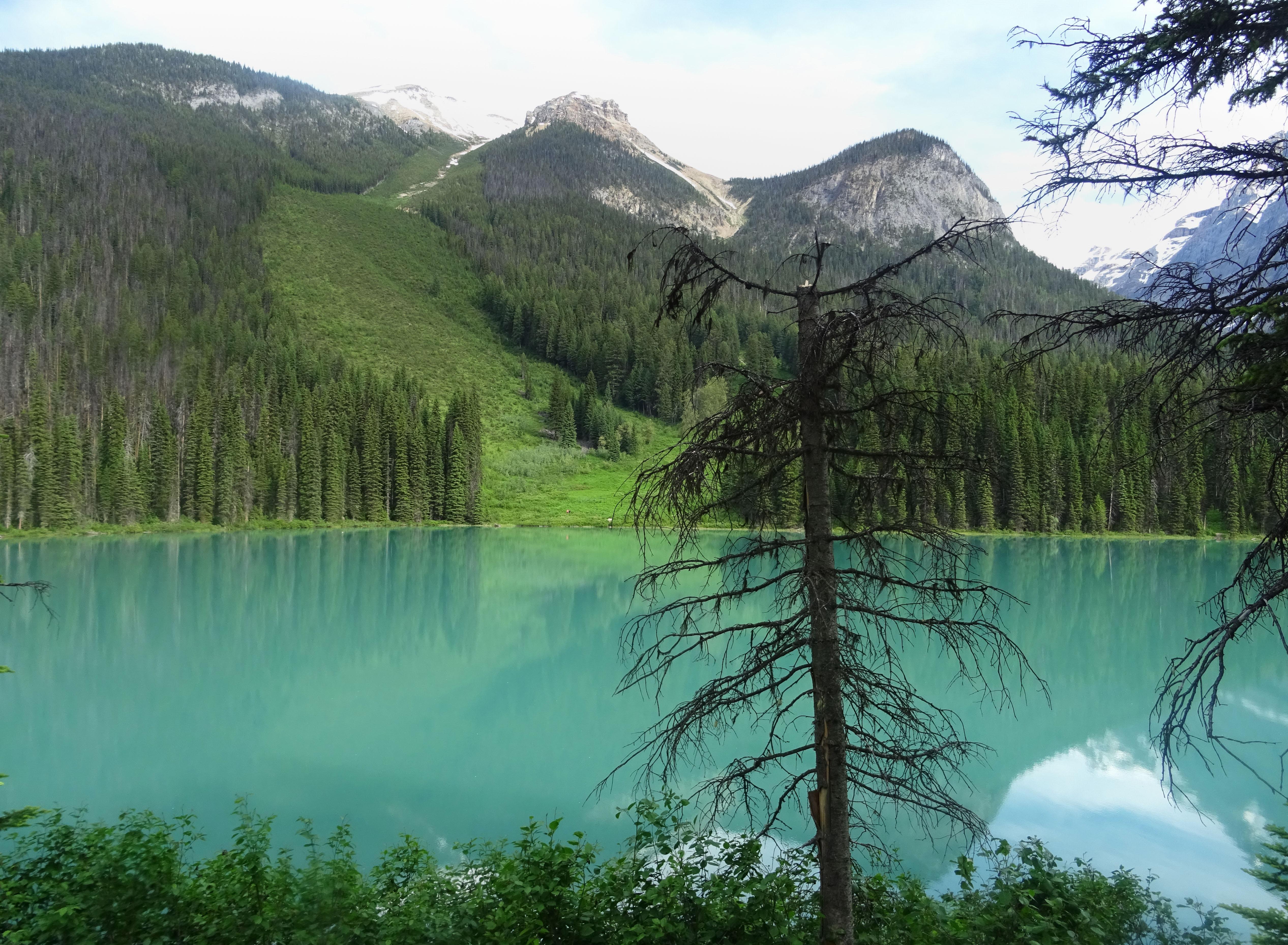 Lac émeraude, Parc national de Yoho, Alberta, Canada