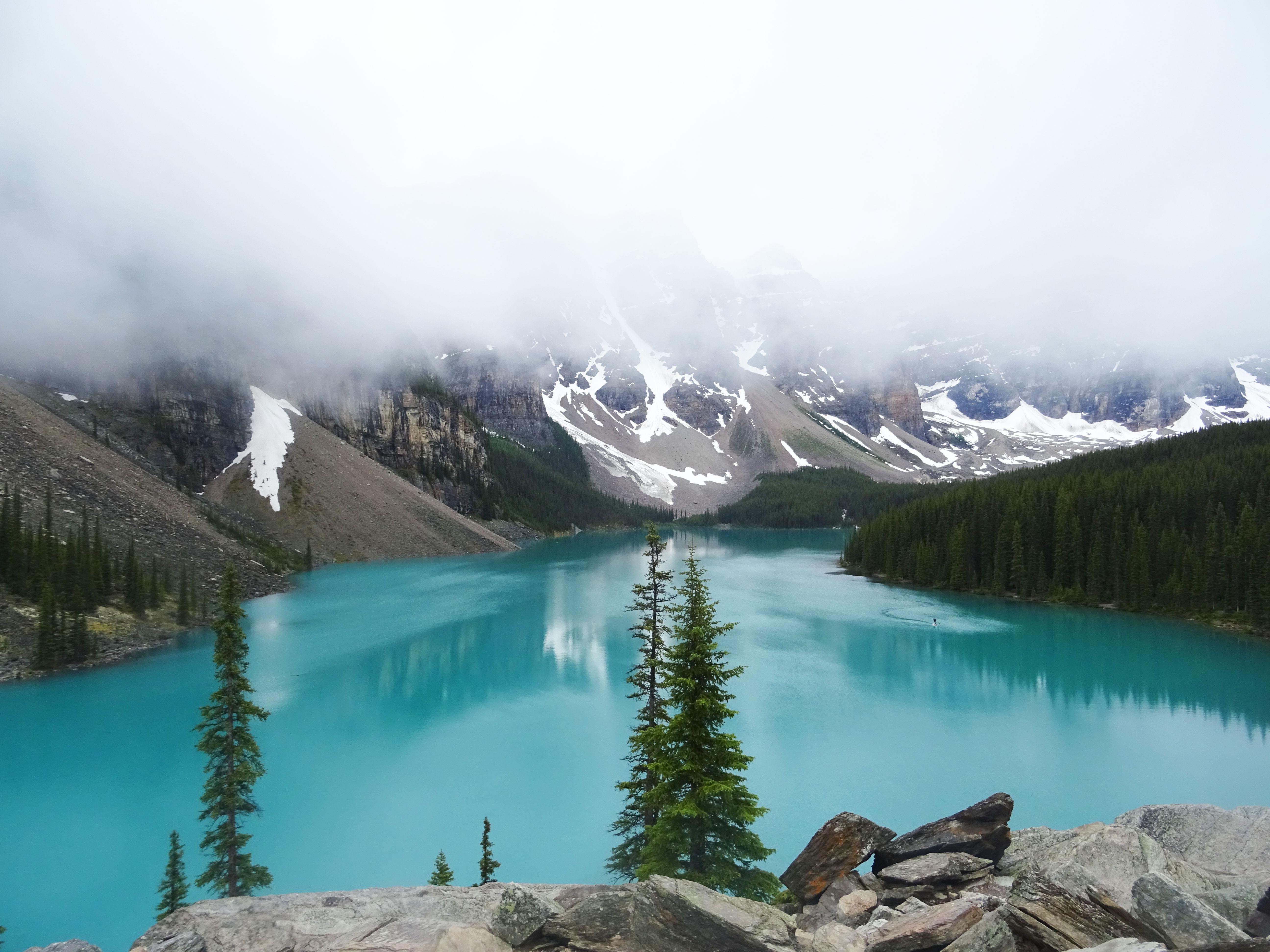 Lac Moraine, Parc national de Banff, Alberta, Canada
