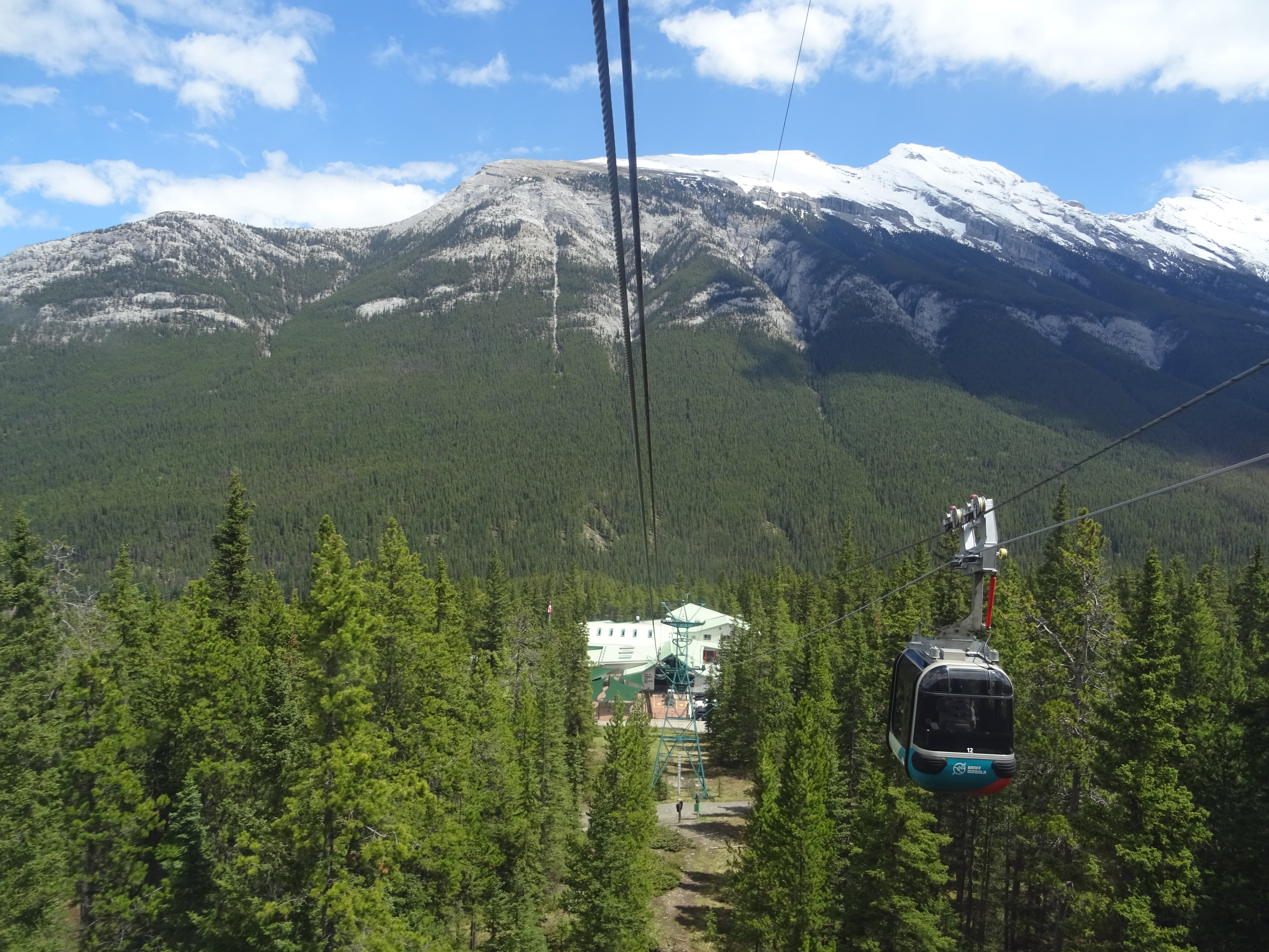 Sulfur mountain Gondola,Parc National de Banff, Alberta, Canada