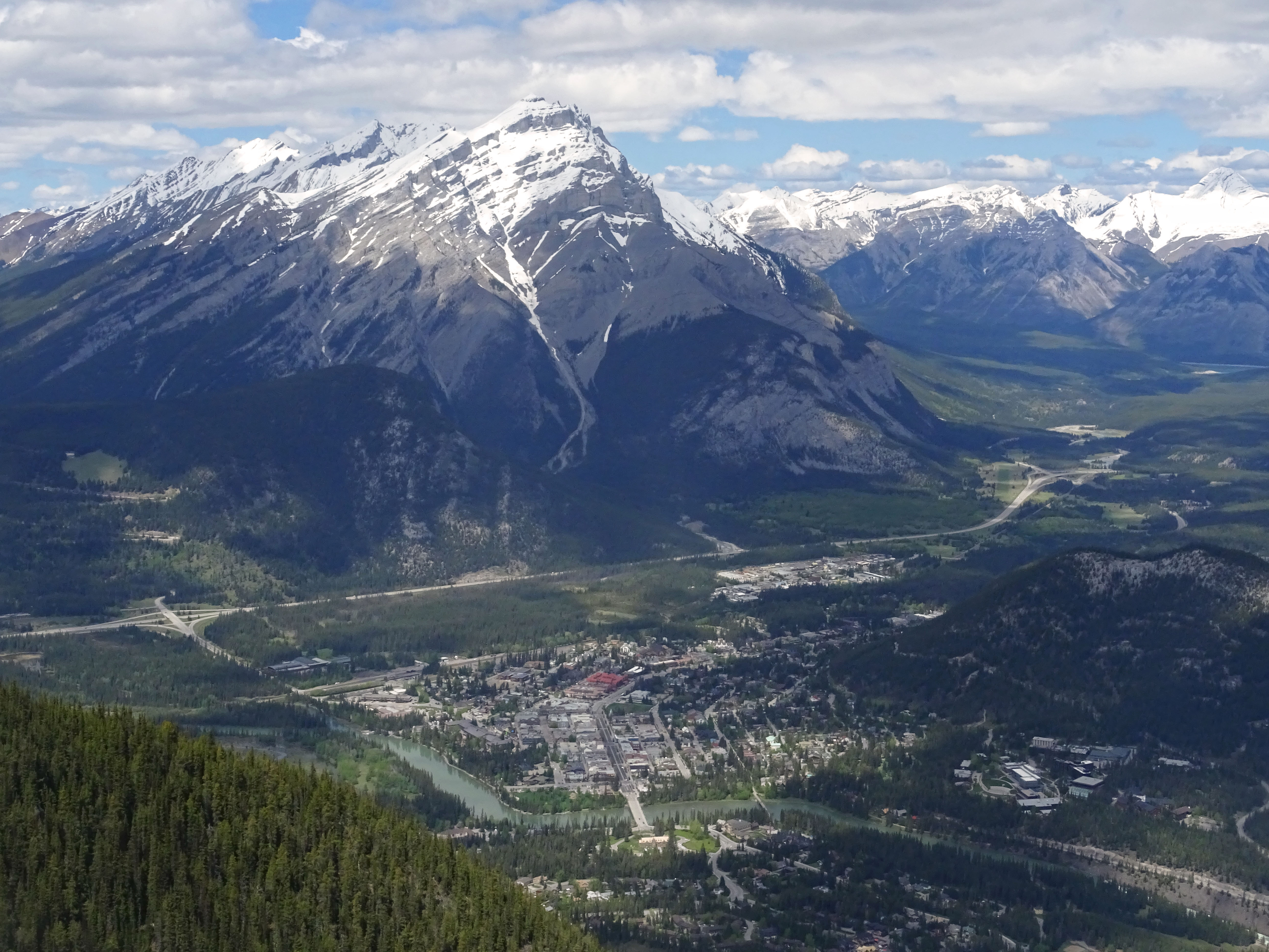 Sulfur Mountain Gondola, Parc national de Banff, Alberta, Canada
