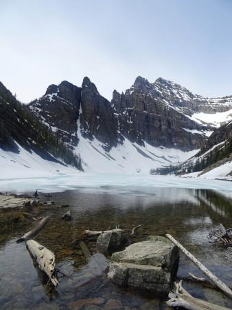 Randonnée Lac Agnès, Lac Louise, Parc national de Banff, Alberta, Canada