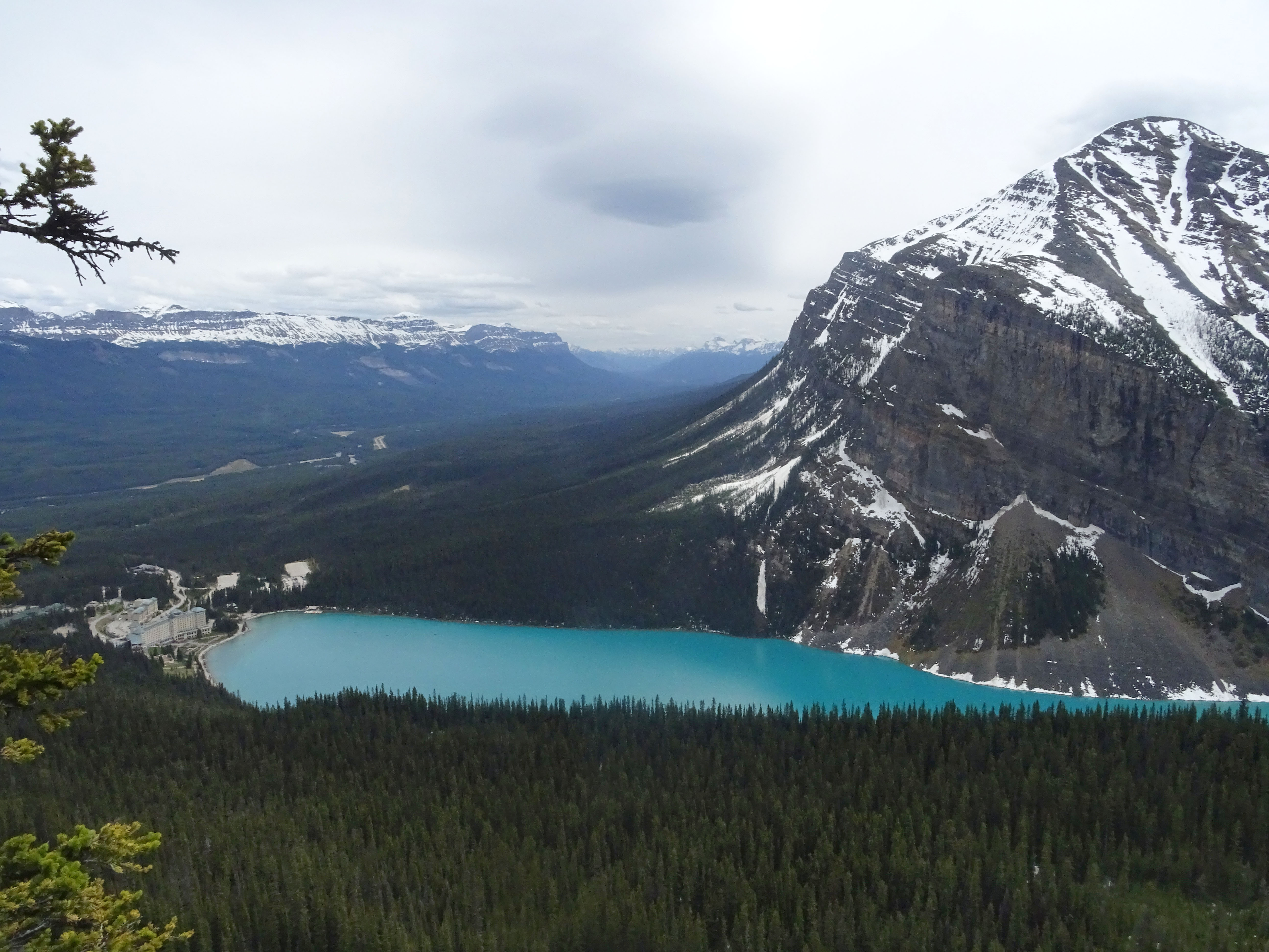 Randonnée Little Beehive via le Lac Louise, Parc national de Banff, Alberta, Canada