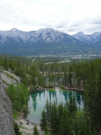Randonnée à Grassi Lakes, Canmore, Canada