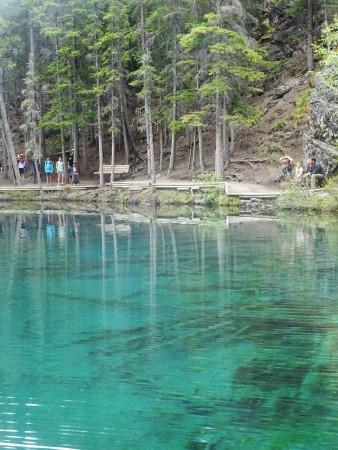 Randonnée à Grassi Lakes, Canmore, Alberta