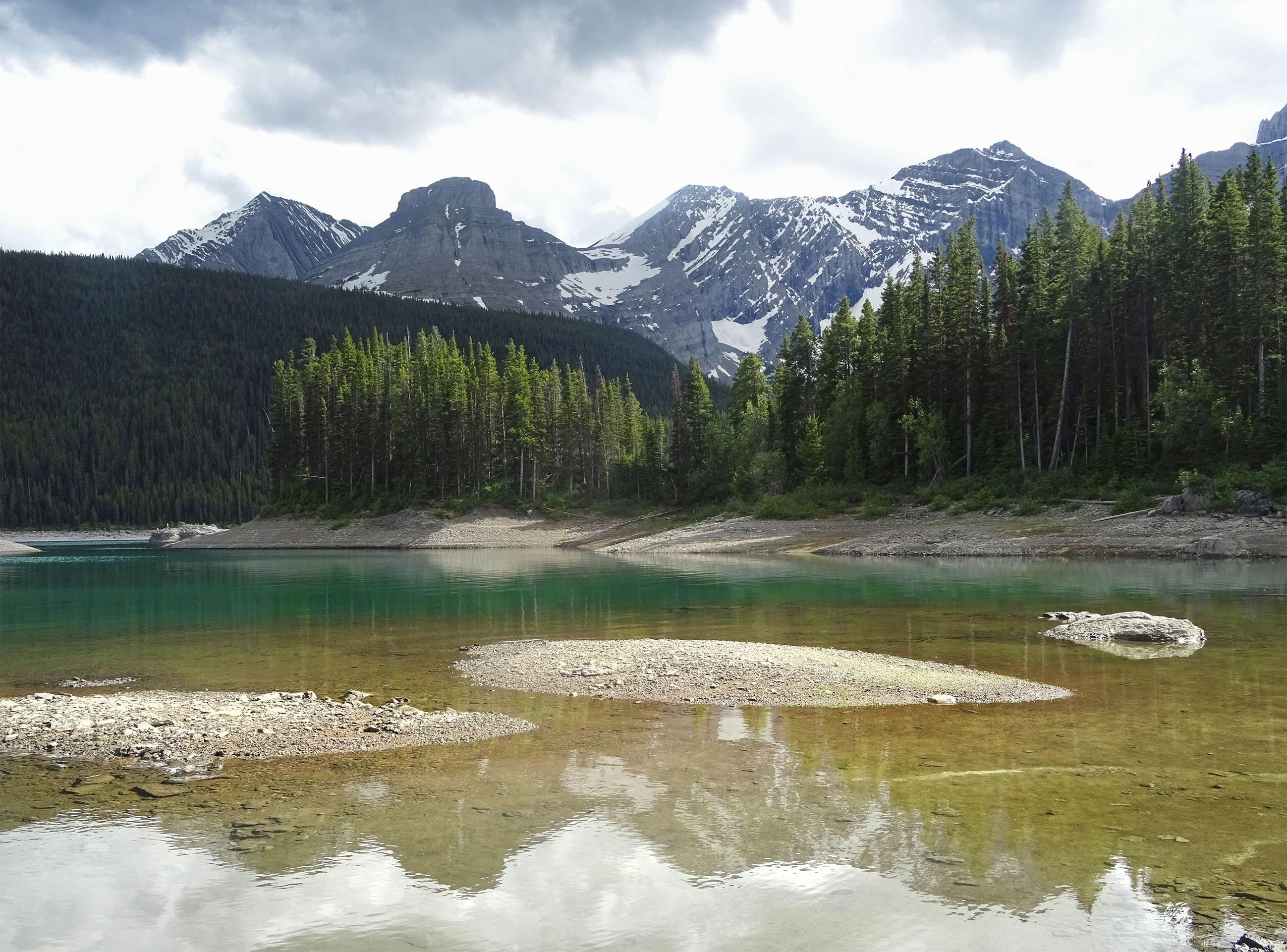 Lac supérieur, Pays de Kananaskis, Alberta, Canada